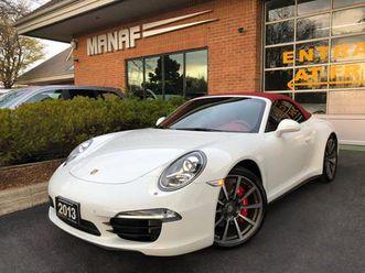 used 2013 porsche 911 cabriolet 911 carrera 4s awd pdk transmission cert