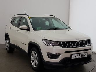 2018 jeep compass 1.4 multiair 140 longitude 5dr [2wd]