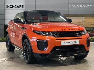 2018 land rover range rover evoque 2.0 td4 hse dynamic 2dr auto