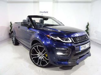 land rover range rover evoque 2.0 td4 hse dynamic auto 4wd (s/s) 2droverfinch