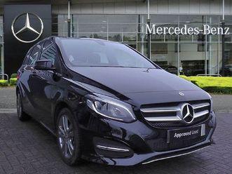 2019 mercedes-benz b-class b180 exclusive edition plus 5dr