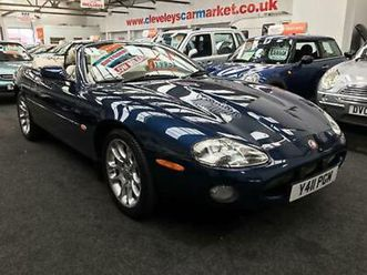 2001 jaguar xkr 4.0 supercharged automatic convertible convertible petrol automa