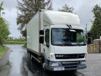 2013 daf 45.160 box body for sale in armagh for € on donedeal
