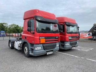 2013 daf cf85.460 6x2 spacecab t/unit for sale in louth for € on donedeal