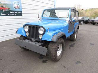 jeep cj 7 - l6 232 ci de 3,8l