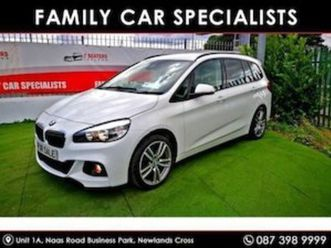 bmw 2 series gran tourer trade sale only 7seater for sale in dublin for €16900 on donedeal