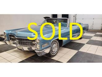 for sale: 1966 cadillac deville in annandale, minnesota