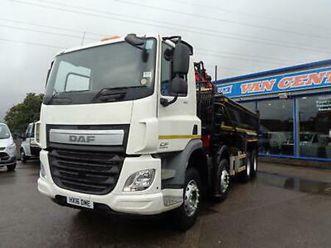 2016 daf trucks cf 370 fad euro 6 na diesel automatic