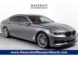 Alpina B7 Gray Color 2019 Bmw 7 Series Alpina B7 For Sale In Newport Beach Ca 92663 Vin Is Wba7f2c Used The Parking