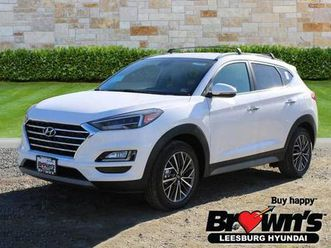 2021 hyundai tucson limited edition