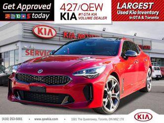 used 2018 kia stinger gt limited