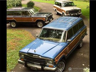 for sale: 1991 jeep grand wagoneer in bemus point, new york