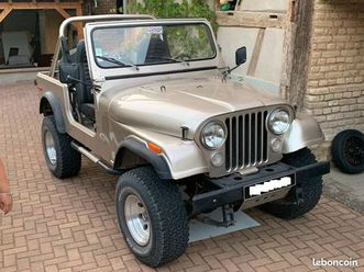 jeep cj7 4.2l superbe état d'origine