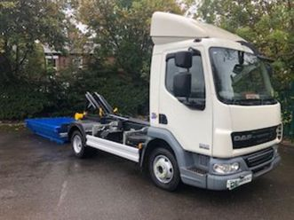 daf 2013/14 7.5t 12t 14 ton new hookloaders for sale in down for €1 on donedeal