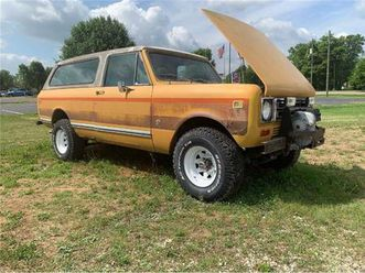for sale: 1977 international scout in cadillac, michigan