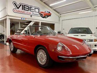alfa romeo 2000 spider veloce kamm tail s2 1974 // stunning uk supplied rhd car (1974)