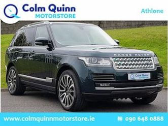 land rover range rover range rover 3.0 tdv6 vogue for sale in westmeath for €79995 on done
