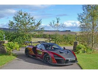 mclaren senna v8 ssg **extensive mso specification** 2019
