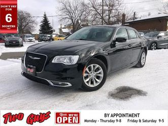 used 2018 chrysler 300 touring | nav | panoroof | remote start |