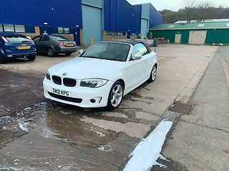 2012 bmw 1 series 118d exclusive edition 2dr convertible diesel manual