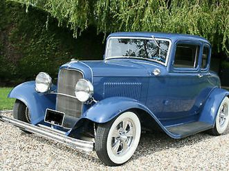 1932 ford model b coupe v8 hot rod. now sold, looking for similar cars
