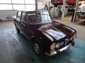 alfa romeo giulia uit 01-01-1972 aangeboden door joop stolze classic cars