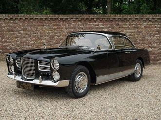 well documented, known history, completely restored, european car
