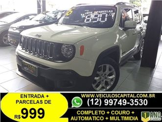 jeep renegade longitude 1.8 (aut) (flex)