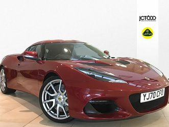 2021 lotus evora 3.5 gt430 sport - £81,000