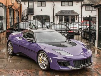2017 lotus evora 3.5 sport 410 (2+0) - £59,850