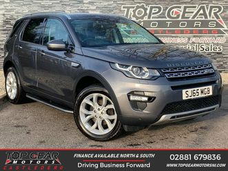 2015 land rover discovery sport 2.0td4 hse (180ps) - £17,995