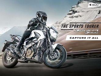 bajaj dominar 400 naked bike 400 ccm motorrad euro 4, abs, neu