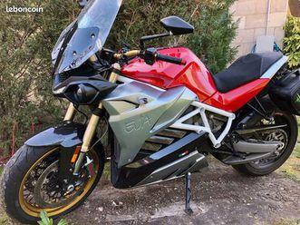 moto électrique eva energica, 1ère main