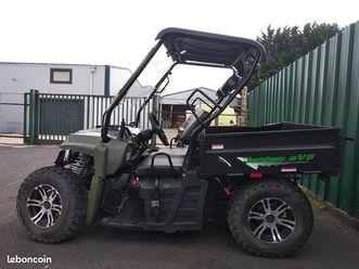 hytrack jobber ev5 buggy électrique accidenté en riv - 12 kms