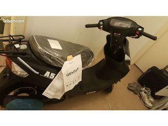 scooter a5 50cc euro4 noir neuf