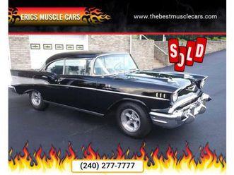 for sale: 1957 chevrolet bel air in clarksburg, maryland