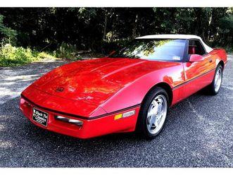 for sale: 1988 chevrolet corvette in stratford, new jersey