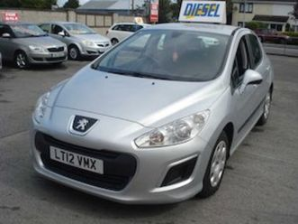 peugeot 308, 2012 for sale in westmeath for €6500 on donedeal