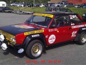 fiat 131 racing gr2 rally storici abarth - permute - epoca