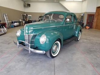 for sale: 1940 ford deluxe in ellington, connecticut