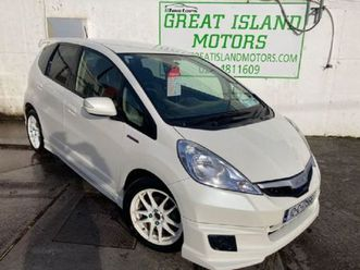 honda fit 1.3i hybrid 5dr automatic nct 12/21 170 for sale in cork for €6,900 on donedeal
