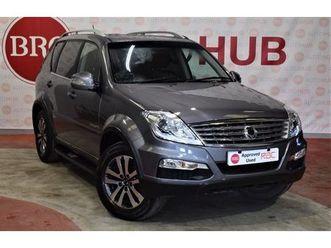 2014 ssangyong rexton 2.0 ex 5 door auto 153 bhp