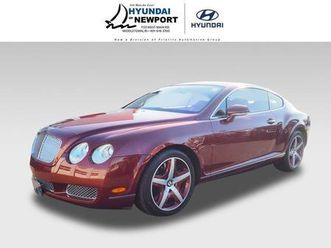 brown color 2005 bentley continental gt for sale in middletown, ri 02842. vin is scbcr63w3