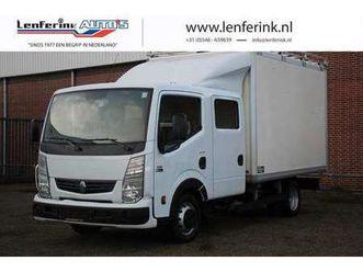 renault maxity 2.5 dci 130 pk dubbel cabine, bakwagen, ele