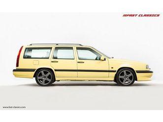 volvo 850 t5-r // uk supplied // gul yellow // 57k miles