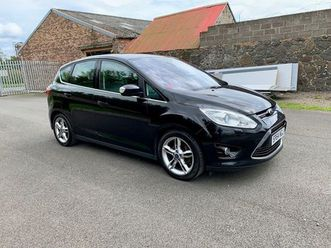 ford c-max 1.6 tdci titanium x 5drimmaculate top of the range!