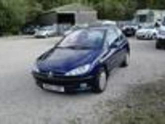 2003 peugeot 206 1.4 lx automatic
