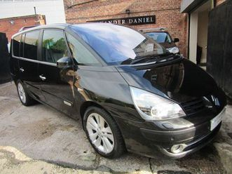 renault grand espace 3.0 dci v6 initiale 5dr (eu4)stunning 7 seater family car