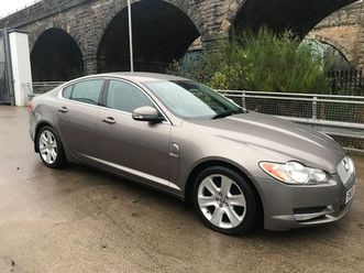 jaguar xf 2.7 td premium luxury 4drfull history low mileage !!