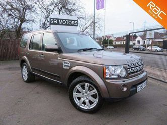 land rover discovery 4 3.0 td v6 xs 4x4 5dr300+cars srmotorcompany.co.uk